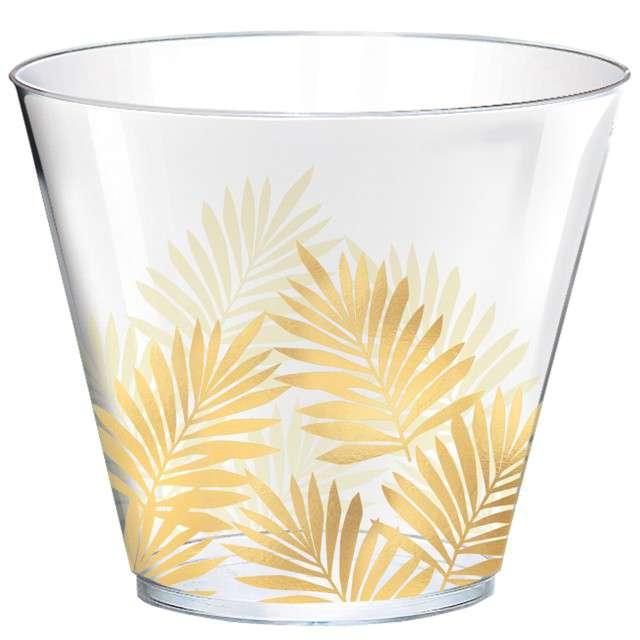 """Kubeczki plastikowe """"Liście Palmy - Key West"""", AMSCAN, 266 ml, 30 szt"""