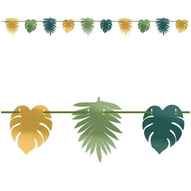 """Girlanda """"Liście Palmy - Key West"""", AMSCAN, 365 cm"""