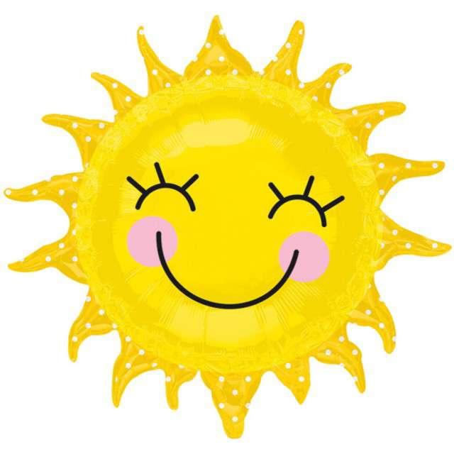 Balon foliowy Uśmiechnięte Słońce AMSCAN 29 SHP