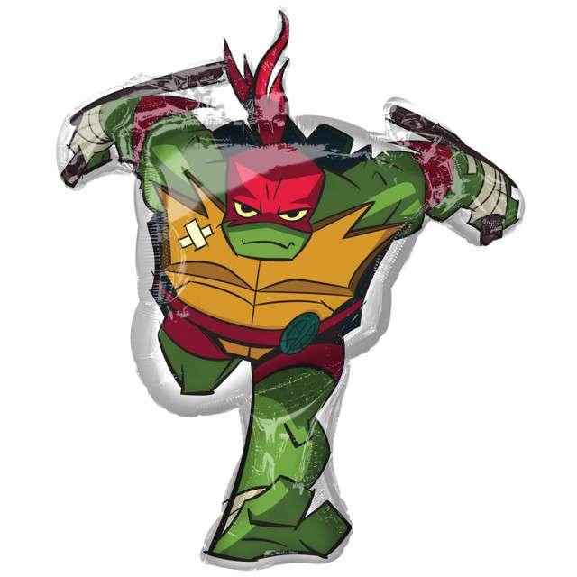 Balon foliowy Rafael - Żółwie Ninja AMSCAN 34 SHP