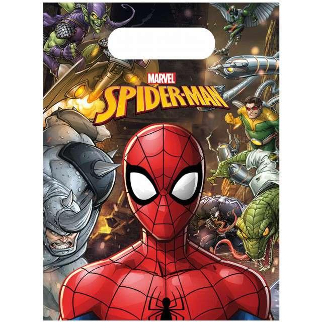 "Torebki foliowe ""SpiderMan Team Up"", PROCOS, 23x17 cm, 6 szt"