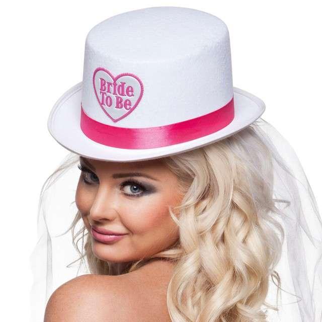 Kapelusz Bride to Be - Welon filcowy BOLAND