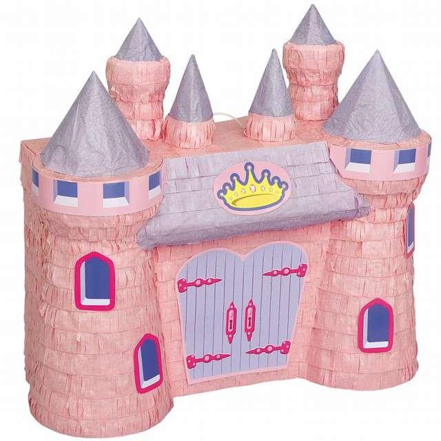"""Piniata """"Zamek Księżniczki"""", UNIQUE, rozm. 42x37 cm"""