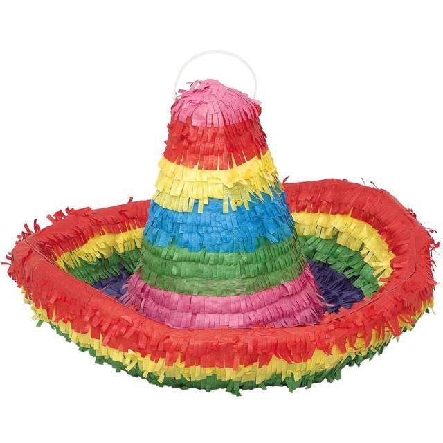 "Piniata ""Sombrero"", UNIQUE, rozm. 39x36 cm"