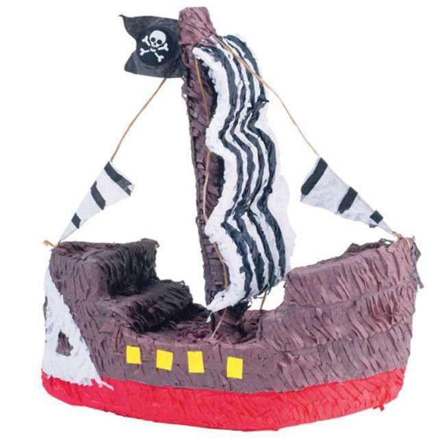 """Piniata """"Statek Piratów"""", FunnyFashion, 44x39 cm"""
