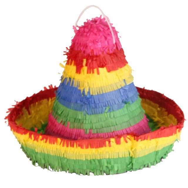 """Piniata """"Sombrero"""", AMSCAN, 38x35 cm"""