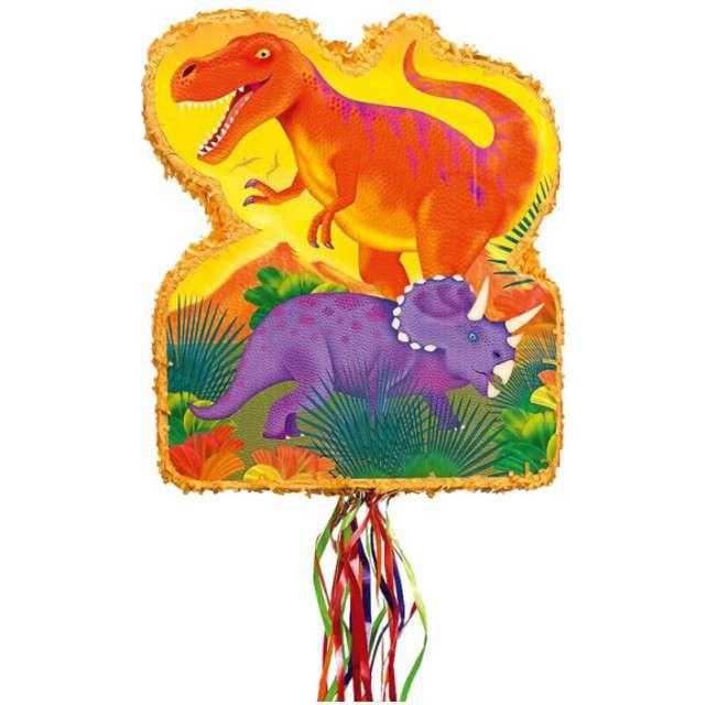 """Piniata """"Dinozaury"""", AMSCAN, 53x45 cm"""