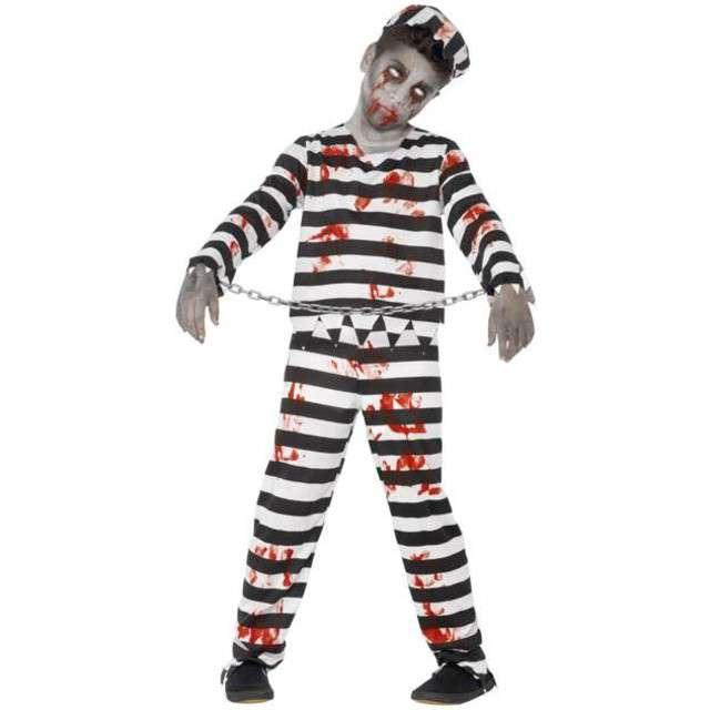 """Strój dla dzieci """"Zombie Więzień"""", SMIFFYS,  7-9 lat"""