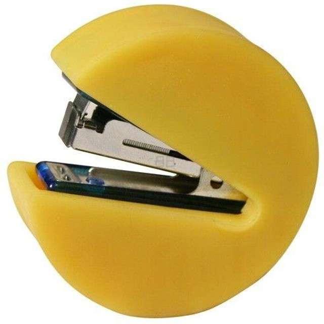 Zszywacz Pac-Man żółty KEMIŚ