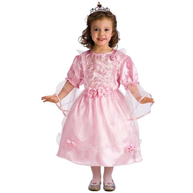 """Strój dla dzieci """"Księżniczka Różowa"""", Carnival Toys, rozm. 6-7 lat"""