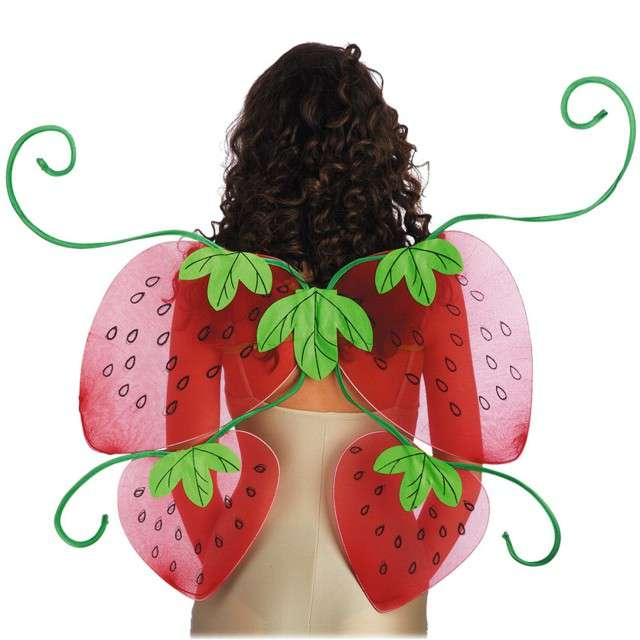 """Skrzydła """"Truskawka"""", czerwony, Carnival Toys, 80 cm"""