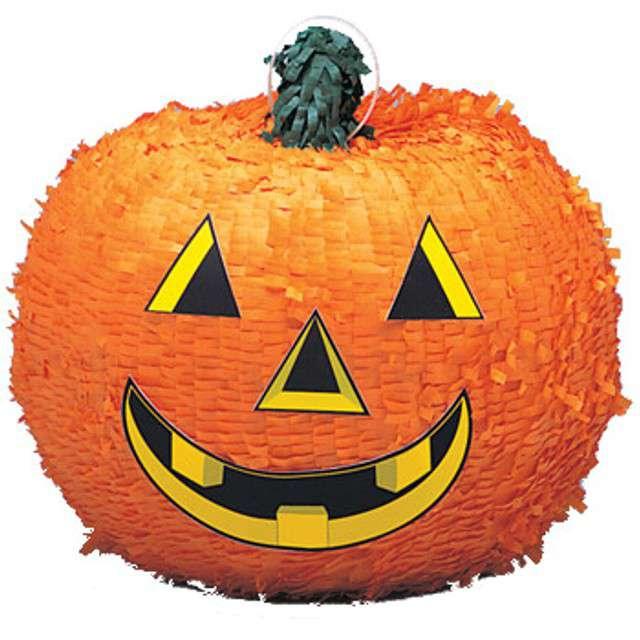 "Piniata ""Dynia Halloween"", UNIQUE, 30x28 cm"