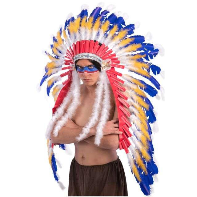 """Pióropusz party """"Indiański Wódz"""", Carnival Toys"""