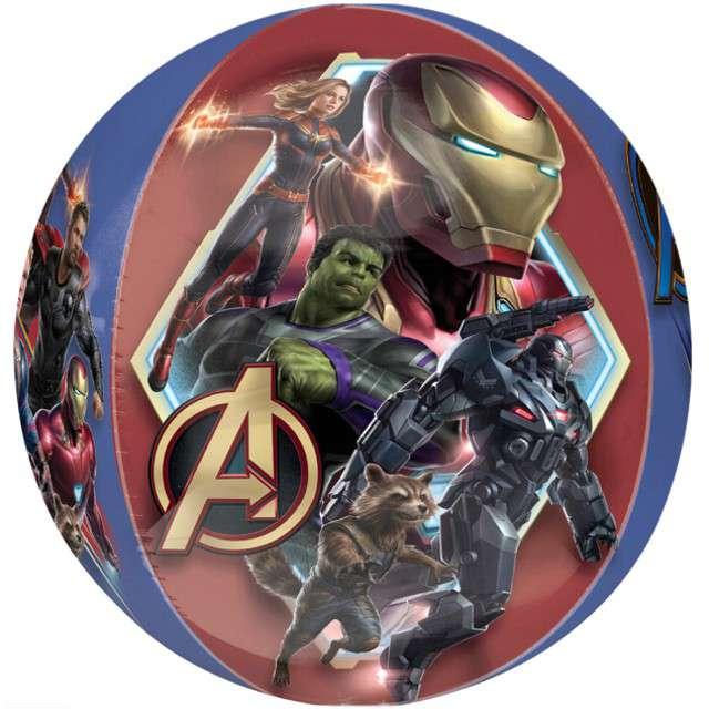 "Balon foliowy ""Endgame - Avengers"", AMSCAN, 16"" ORB"