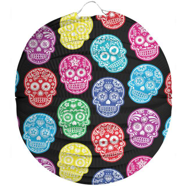 "Lampion papierowy ""Day of The Dead"", FOLAT, 22 cm"