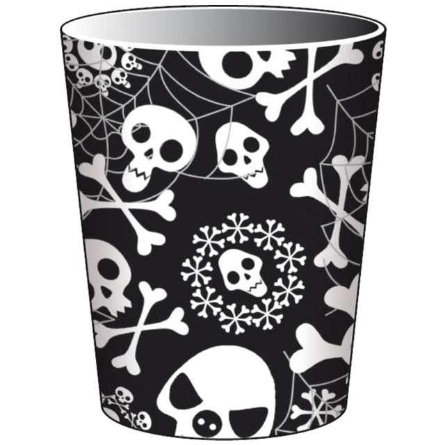 """Kubeczki papierowe """"Czaszki - Halloween"""", FOLAT, 250 ml, 8 szt"""