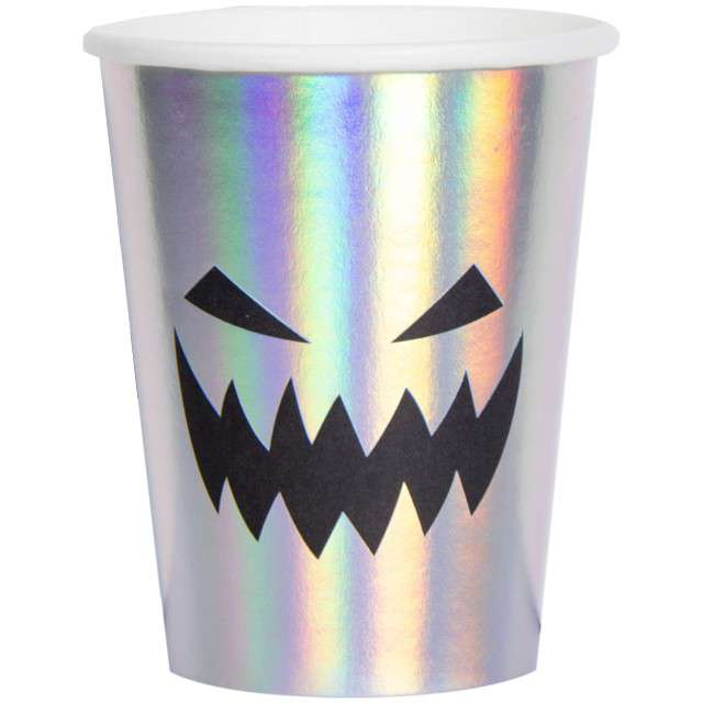 "Kubeczki papierowe ""Creepy Face"", FOLAT, 250 ml, 6 szt"