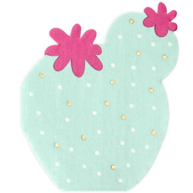 "Serwetki ""Kaktus"", miętowe, PartyDeco, 27 cm, 20 szt"
