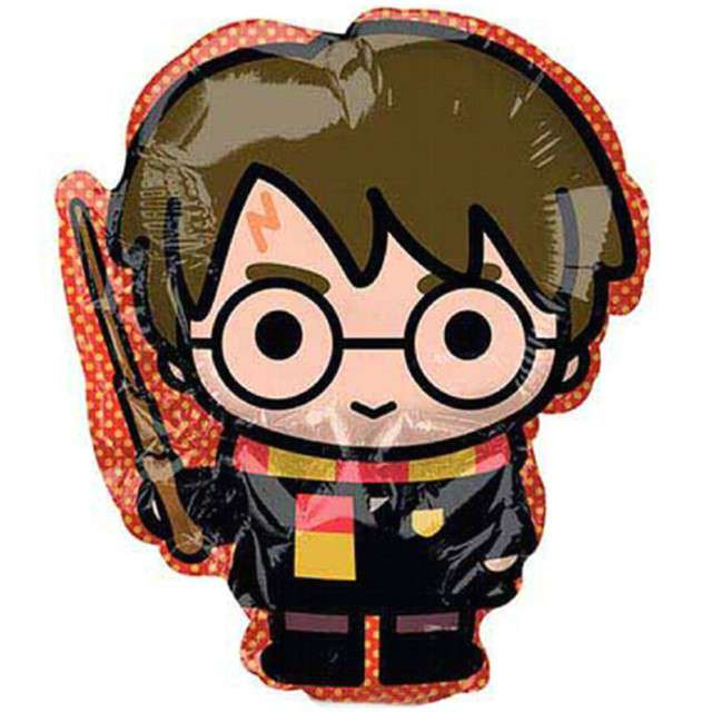 "Balon foliowy ""Harry Potter"", AMSCAN, 9"" SHP"