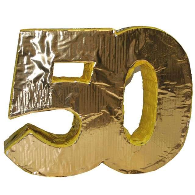 Piniata 50 urodziny FunnyFashion 50x40cm