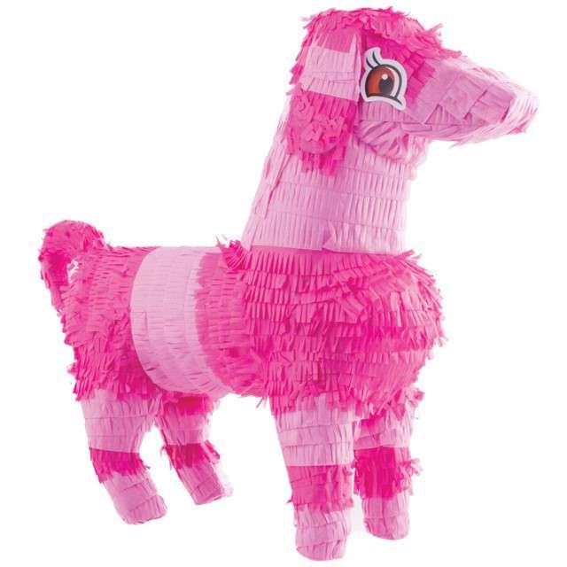 "Piniata ""Piesek Różowy"", FunnyFashion, 50x45 cm"