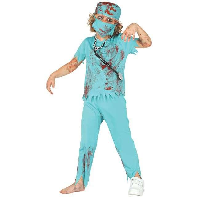 """Strój dla dzieci """"Chirurg Zombie"""", GUIRCA, rozm. 10-12 lat"""