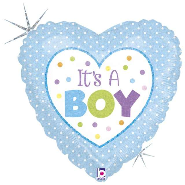 "Balon foliowy ""Its a Boy"", GRABO, 18"" HRT"