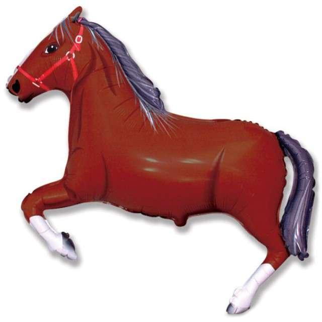 Balon foliowy Koń brązowy GRABO 14 SHP