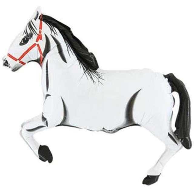 """Balon foliowy """"Koń"""", biały, GRABO, 14"""" SHP"""