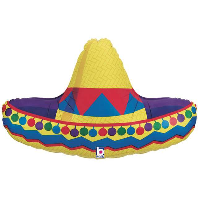 "Balon foliowy ""Sombrero"", GRABO, 34"" SHP"