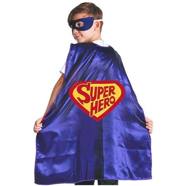 """Strój dla dzieci """"Peleryna Superbohatera"""", GODAN, rozm. 110/120 cm"""