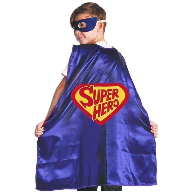 """Strój dla dzieci """"Peleryna Superbohatera"""", GODAN, rozm. 120/130 cm"""