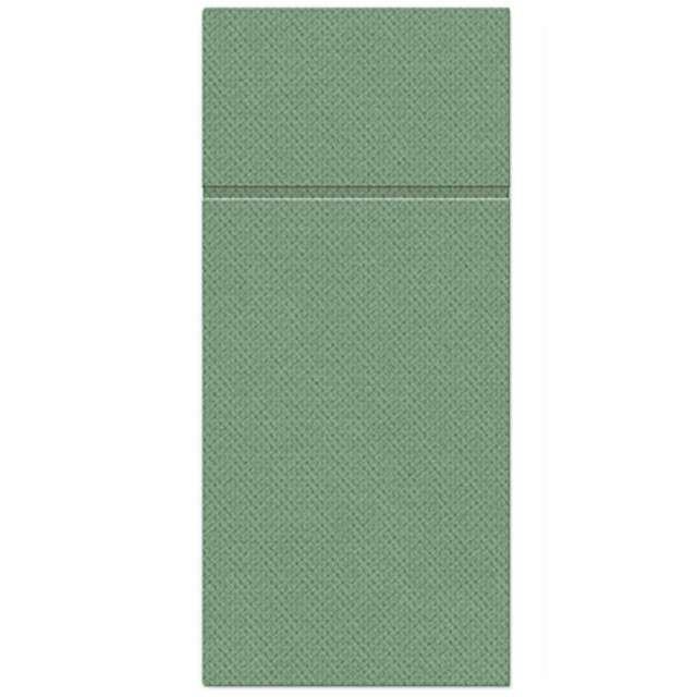 """Kieszonka na sztućce """"Punta Punta"""", zielona ciemna, PAW, 38 cm, 50 szt"""