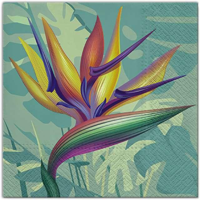 """Serwetki """"Kolorowy Kwiat"""", PAW, 33 cm, 20 szt"""