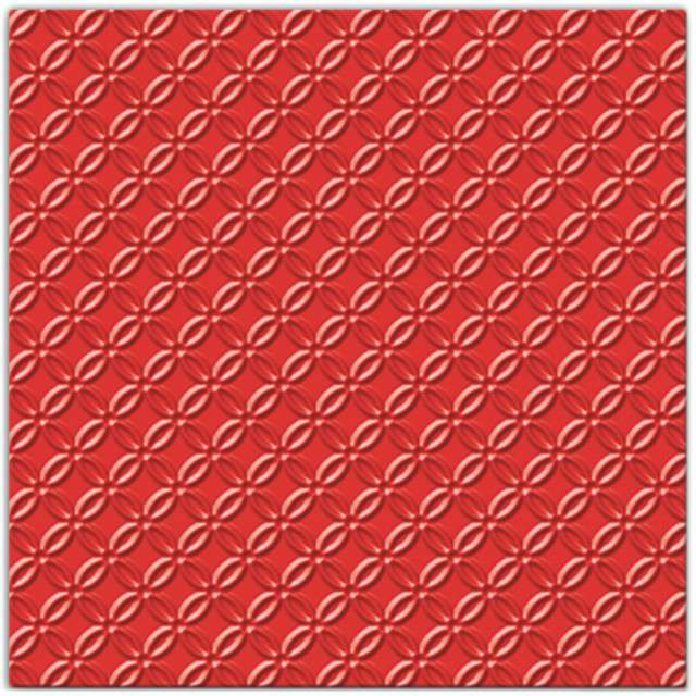 """Serwetki """"Modern"""", czerwony, PAW, 33 cm, 20 szt"""