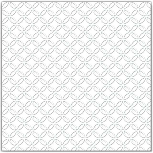 """Serwetki """"Modern"""", biały, PAW, 33 cm, 20 szt"""