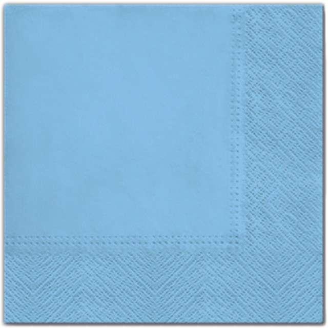 """Serwetki """"Classic"""", błękitne, PAW, 33 cm, 20 szt"""