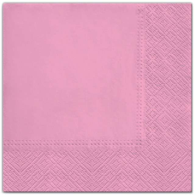 """Serwetki """"Classic"""", różowe, PAW, 33 cm, 20 szt"""