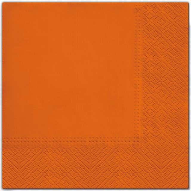 """Serwetki """"Classic"""", pomarańczowe, PAW, 33 cm, 20 szt"""