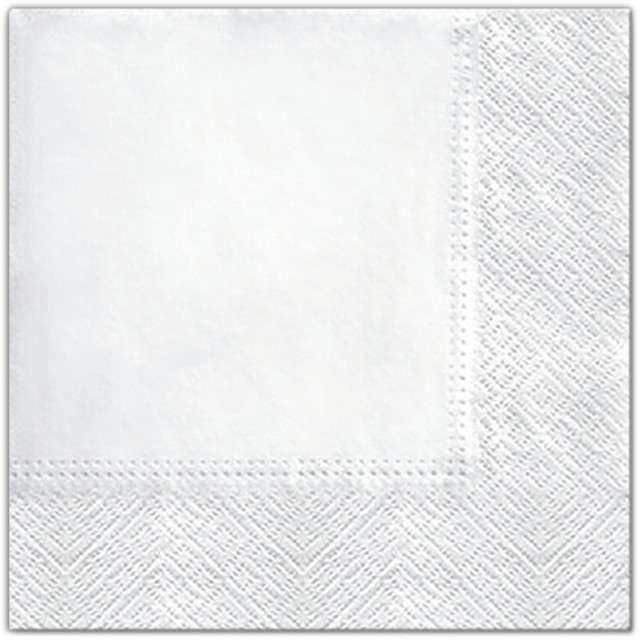 """Serwetki """"Classic"""", białe, PAW, 33 cm, 20 szt"""