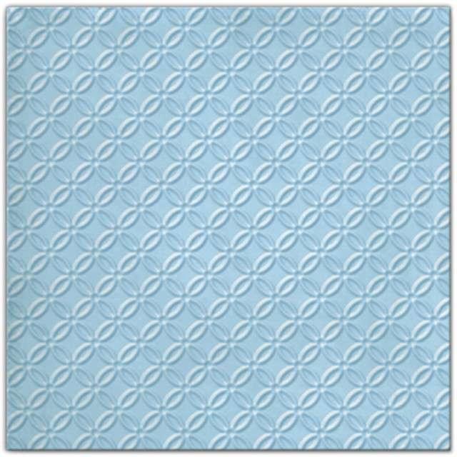 """Serwetki """"Modern"""", niebieski, PAW, 33 cm, 20 szt"""