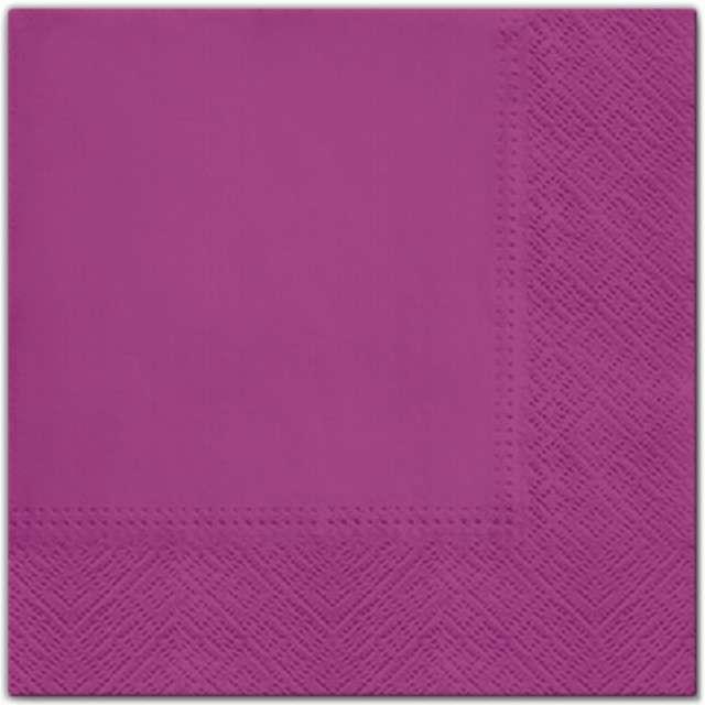 """Serwetki """"Classic"""", różowy, PAW, 33 cm, 20 szt"""