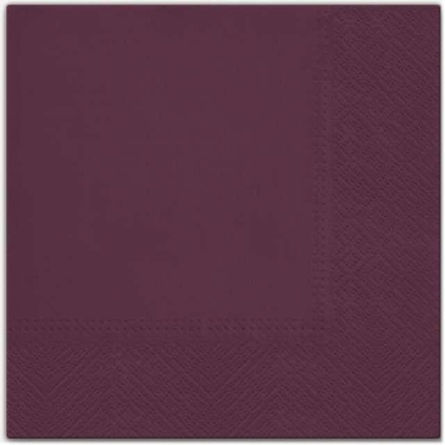 """Serwetki """"Classic"""", bordowe, PAW, 33 cm, 20 szt"""