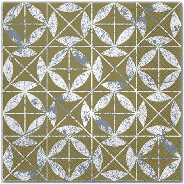"""Serwetki """"Mozaika"""", PAW, 33 cm, 20 szt"""