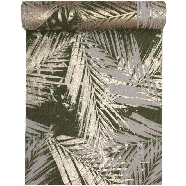 "Bieżnik ""Liść Palmowy"", mix, SANTEX, 300x30 cm"