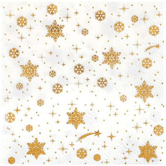 "Serwetki ""Christmas Village"", SANTEX, 25 cm, 20 szt"
