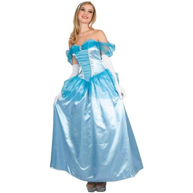 """Strój dla dorosłych """"Błękitna Księżniczka"""", GODAN, rozm. M"""