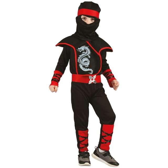 """Strój dla dzieci """"Ninja"""", GODAN, rozm. 92/104 cm"""