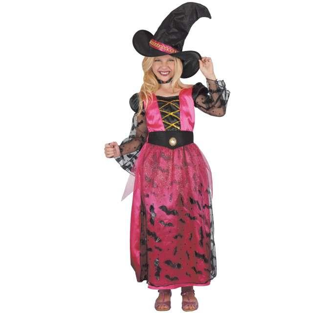 """Strój dla dzieci """"Czarownica Pink Hex"""", GODAN, 120/130 cm"""