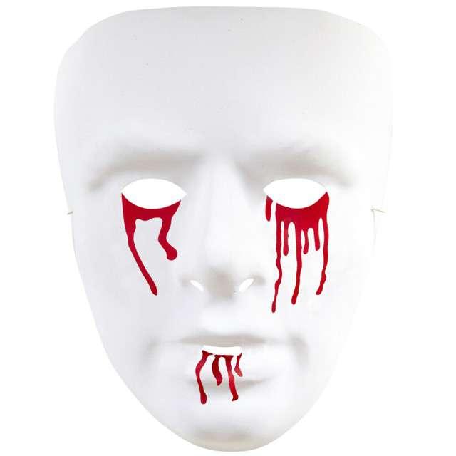 """Maska """"Zjawa z krwawiącymi oczami"""", plastikowa, WIDMANN"""